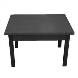 Black Large Nesting Tables 48 X36 X29